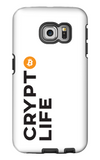 Crypto Life - Bitcoin - Samsung Galaxy Tough Case
