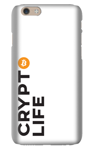 Crypto Life - Bitcoin - iPhone Snap Case