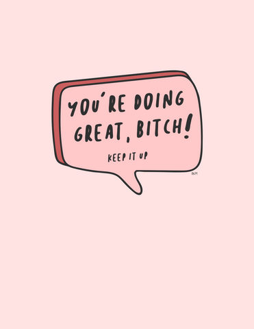 Doing Great (Downloadable PNG)