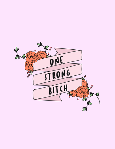 One Strong B (Downloadable PNG)