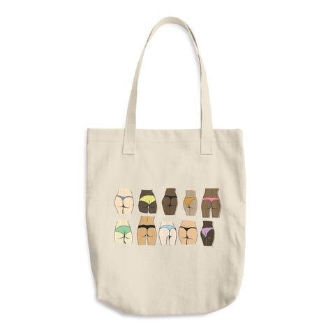 Butts Cotton Tote Bag