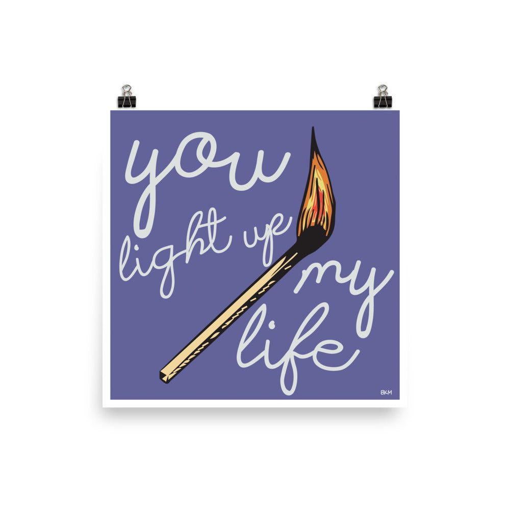 Light Up My Life Poster