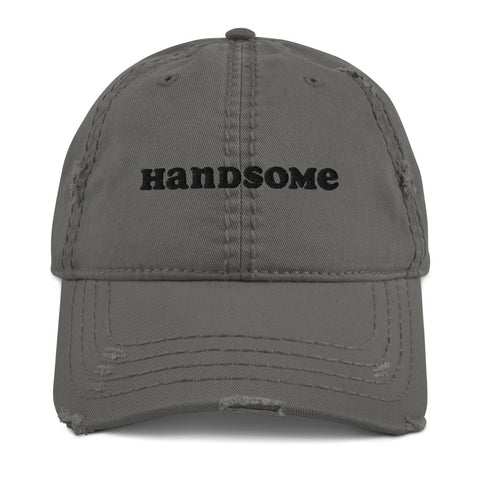 Distressed Handsome Daddy Hat