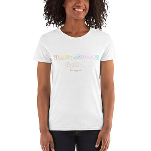 Handsome Girl Rainbow Tee