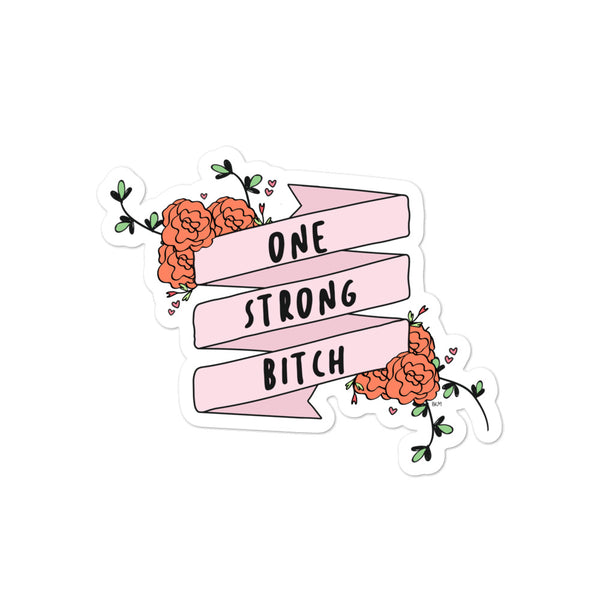 One Strong B Sticker