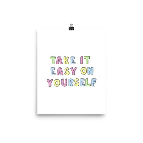 Take It Easy Poster