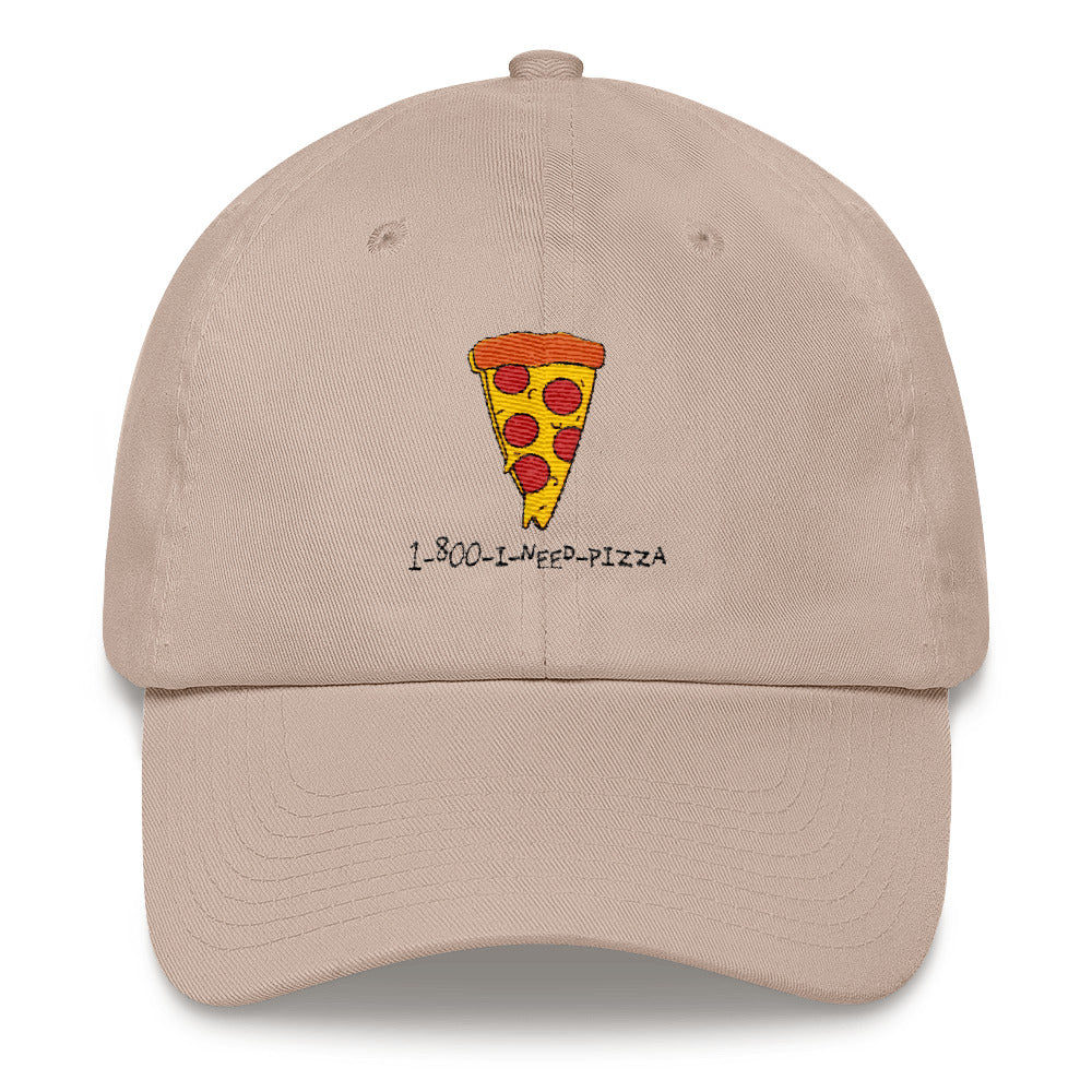 1-800-I-NEED-PIZZA Dad hat