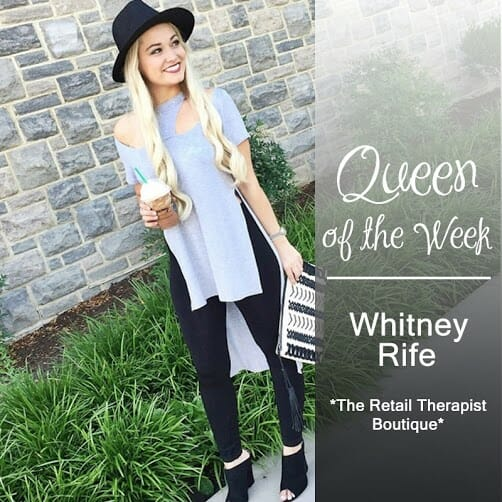 Queen of the Week - Whitney Rife