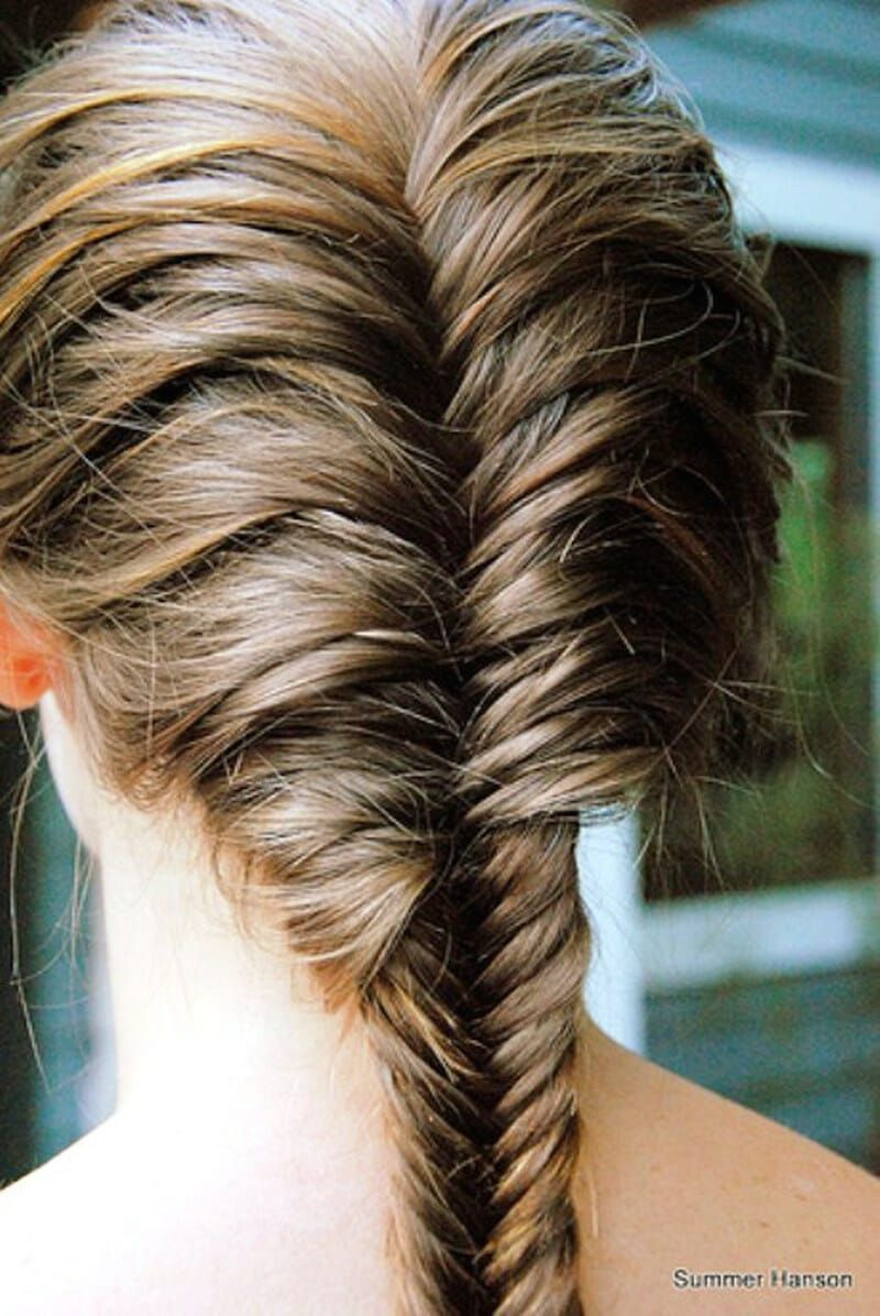 Beautiful-French-Fishtail-Braid-For-Long-Hair