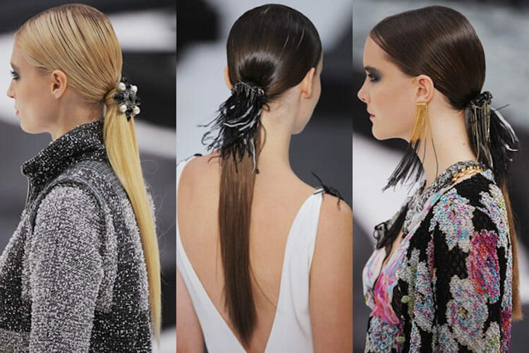 sleek-low-ponytails-chanel