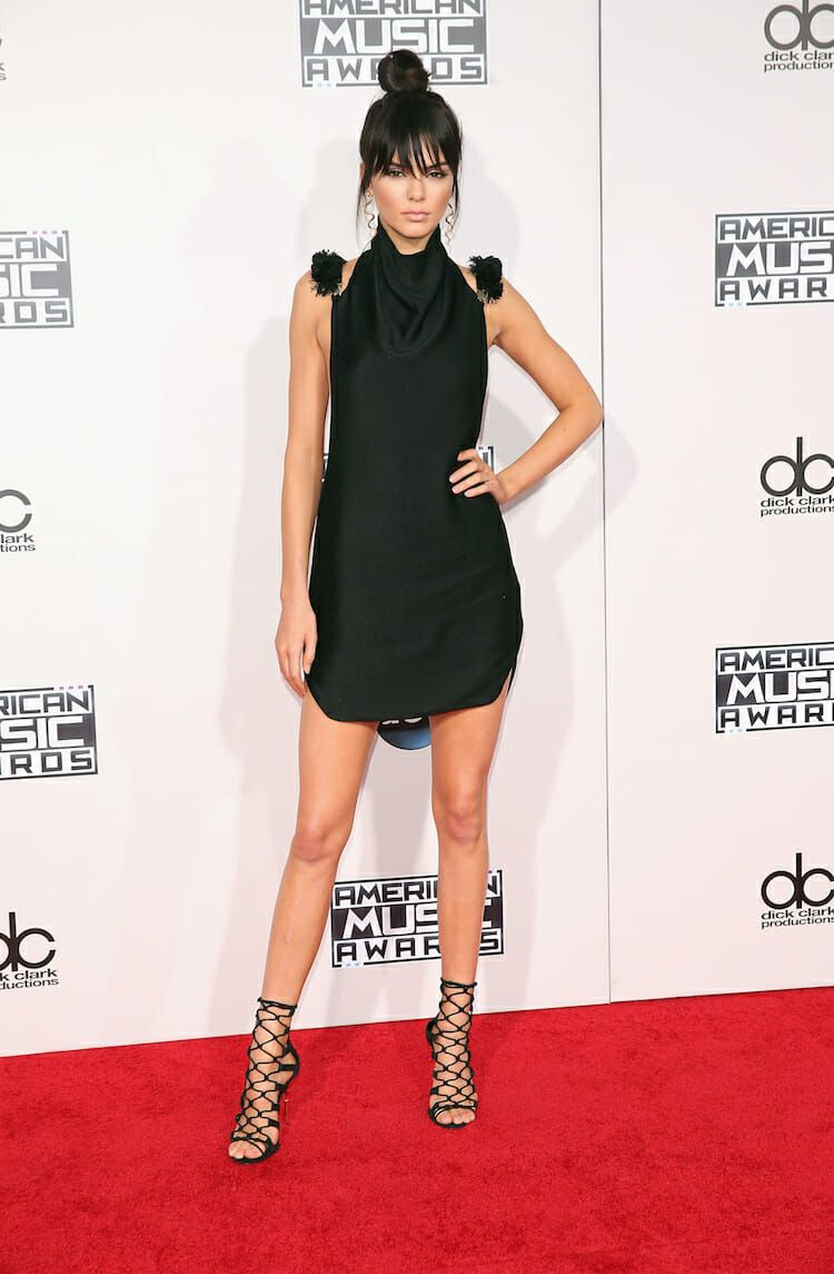 LOS ANGELES, CA - NOVEMBER 22: TV personality Kendall Jenner attends the 2015 American Music Awards at Microsoft Theater on November 22, 2015 in Los Angeles, California. (Photo by Mark Davis/Getty Images)
