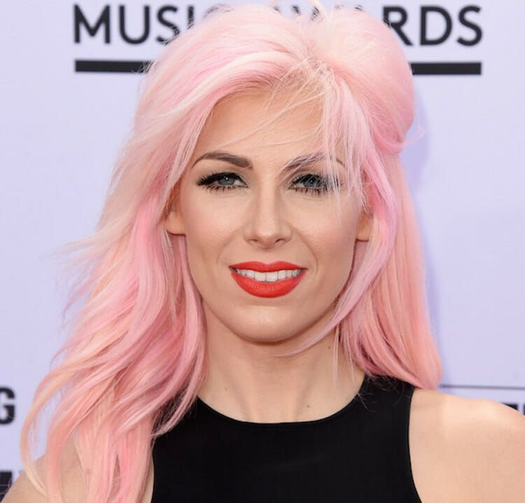 LAS VEGAS, NV - MAY 17: Singer-songwriter Bonnie McKee attends the 2015 Billboard Music Awards at MGM Grand Garden Arena on May 17, 2015 in Las Vegas, Nevada. (Photo by Jason Merritt/Getty Images)