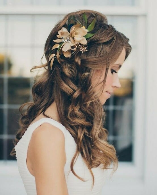 Gorgeous-Half-Up-Half-Down-Hairstyles-for-Wedding-Bride-Hair-Styles-2015