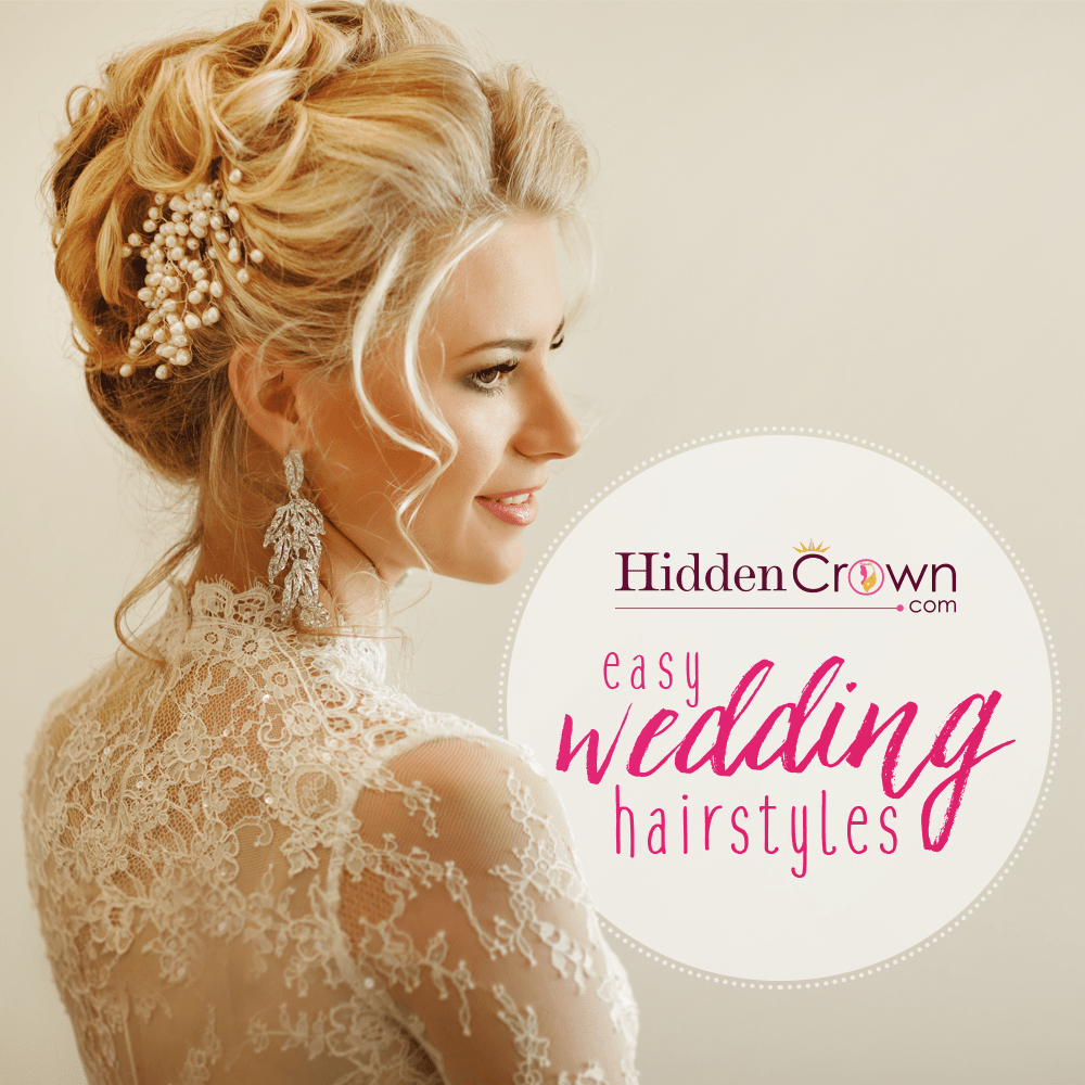 17 Wedding Hairstyles You Ll Adore: Hidden Crown Hair Extensions