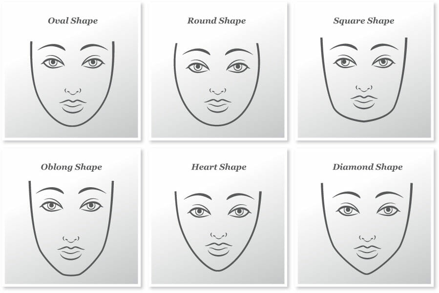 Perfect hairstyles for different face shapes - Hidden Crown