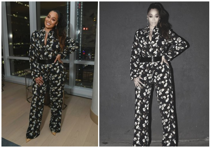 cecf76373cb LaLa Anthony at the InStyle Magazine Cover Party for Ciara topped ...