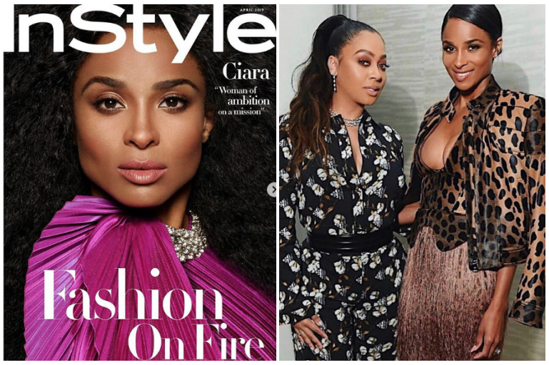 2c1a0723ab3 Sending love and congrats to Ciara on her first InStyle Magazine cover!
