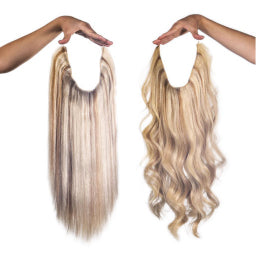 Hair Extensions Clip Ins Toppers Hidden Crown Hair Extensions