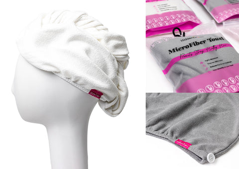 Hidden crown hair microfiber turban towel haircare beauty products exclusive