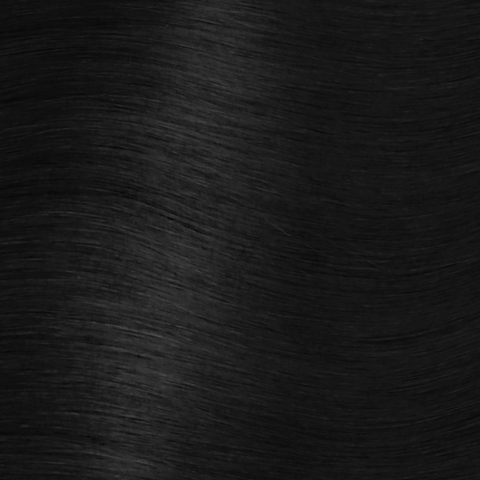 Crown Clip Ins - Jet Black - 1 - Hidden Crown Hair Extensions