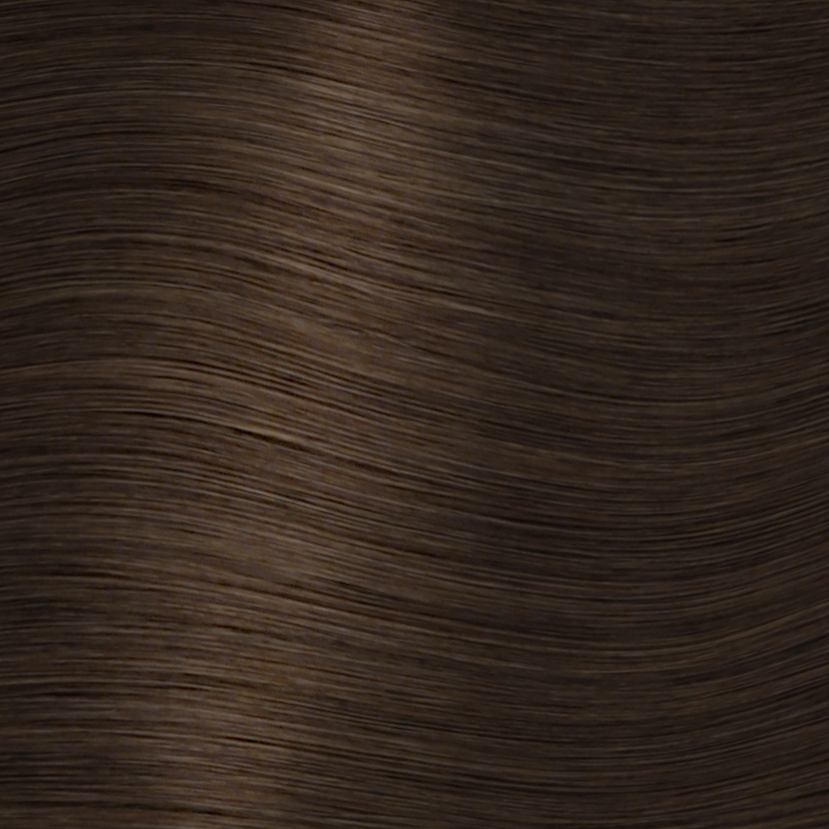Crown<sup>®</sup> Clip Ins - Medium Brown - 4 - Hidden Crown Hair Extensions