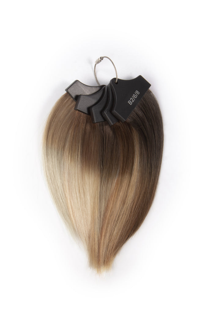Balayage Color Ring - Hidden Crown Hair Extensions
