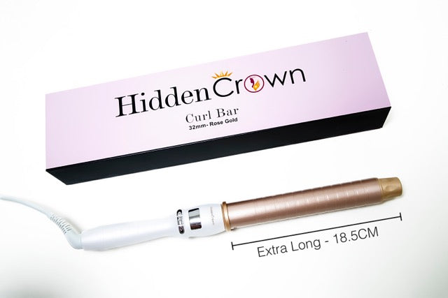 Hidden Crown Curl Bar! - Hidden Crown Hair Extensions