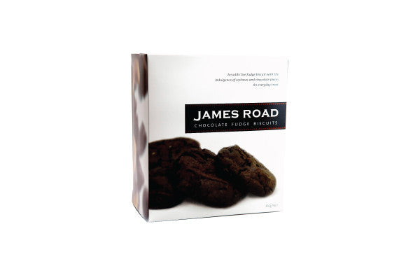 James Road Chocolate Fudge Biscuits - 330g