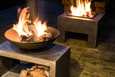 Firefly Rectangular Fire Bowl