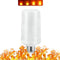Flammande LED-lampa