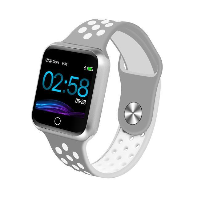 Smart Fitness klokke med touch screen