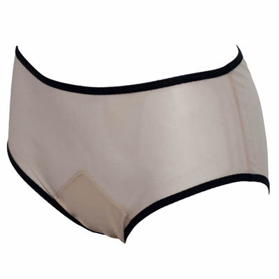 Satisfaction Brief - Nude & Black