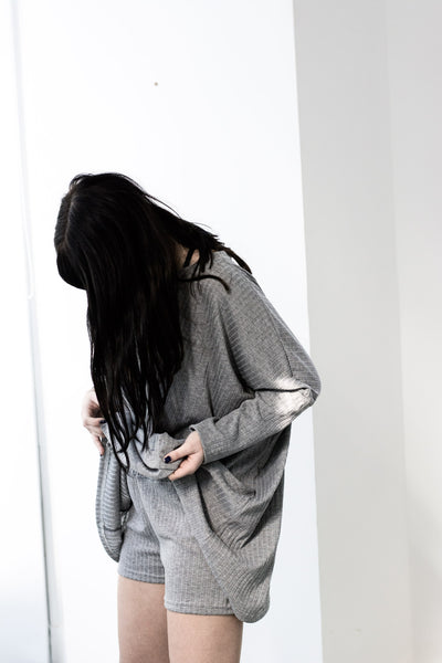 Cotton Pajamas - Gray