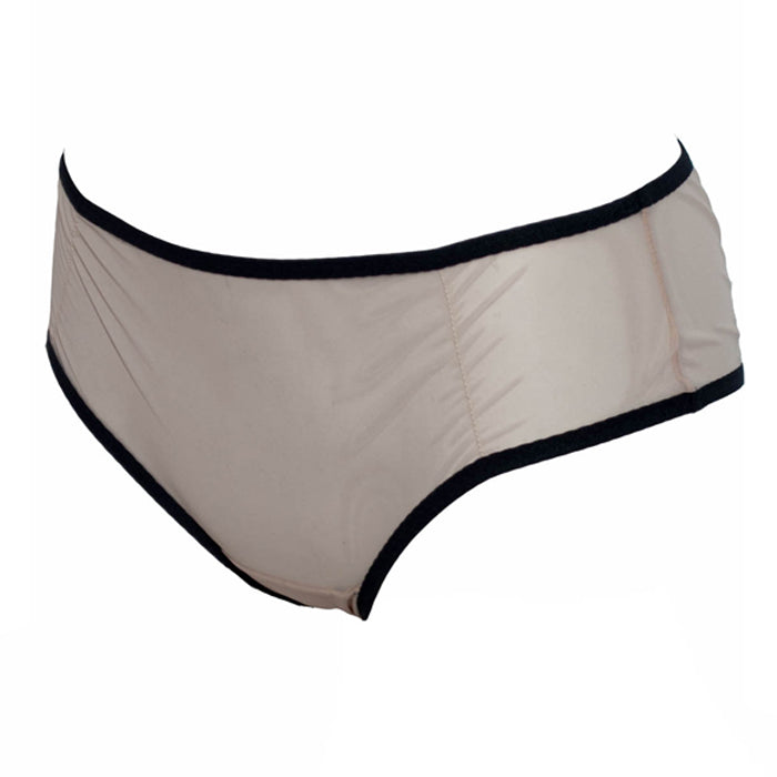 Ivy Brief - Nude & Black