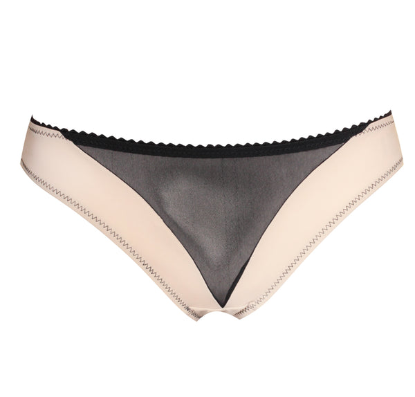 Lady Midnight Brief – Nude & Black