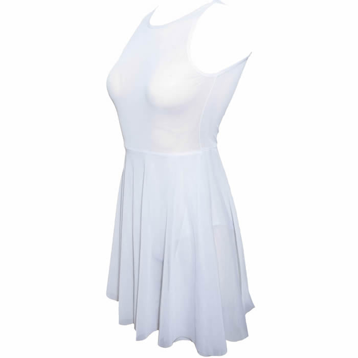 Lady's Game Dress - White