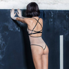 Autosuggestion Bodysuit - Nude & Black