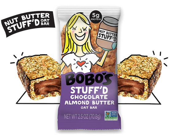 Bobo's Nut Butter Stuff'd Oat Bar - Chocolate Almond Butter