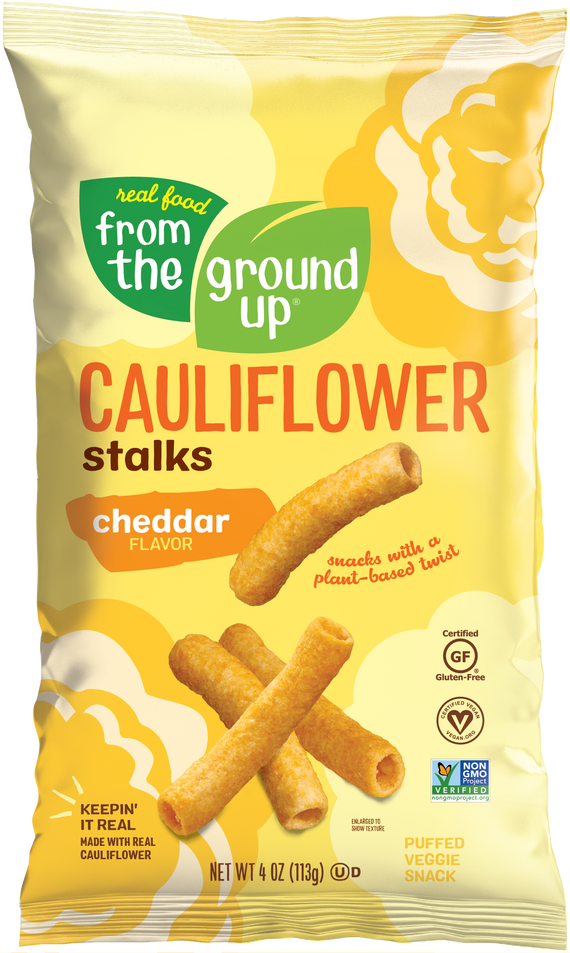 From the Ground Up Cheddar Cauliflower Stalks
