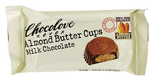 Chocolove xoxox - Almond Butter Cups - Milk Chocolate