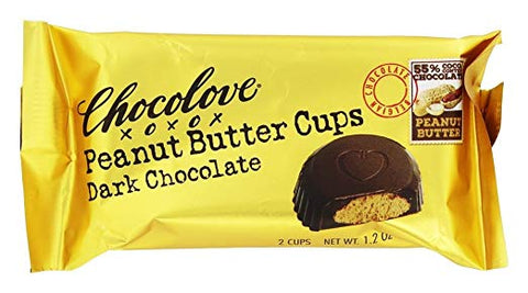 Chocolove xoxox - Peanut Butter Cups - Dark Chocolate