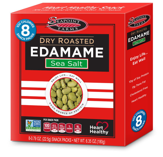 Seapoint Farms Dry Roasted Edamame - Lightly Salted .79oz