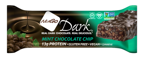 NuGo Dark Mint Chocolate Chip Bar