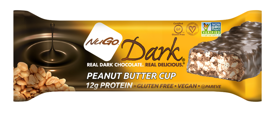 NuGo Dark Chocolate Peanut Butter Cup Bar