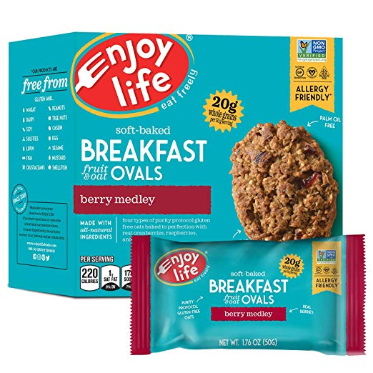 Enjoy Life Breakfast Oval - Berry Medley