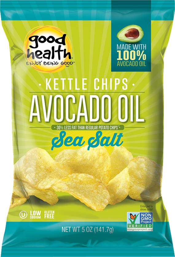 Good Health Avocado Oil Potato Chips - Sea Salt