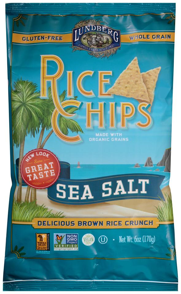 Lundberg Family Farms Multigrain Rice Chips Sea Salt