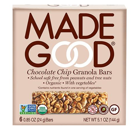 Made Good Chocolate Chip Granola Bars