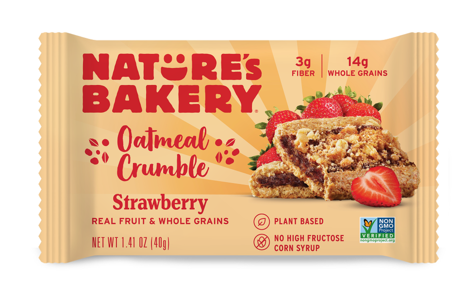 Nature's Bakery Strawberry Oatmeal Crumble Bars