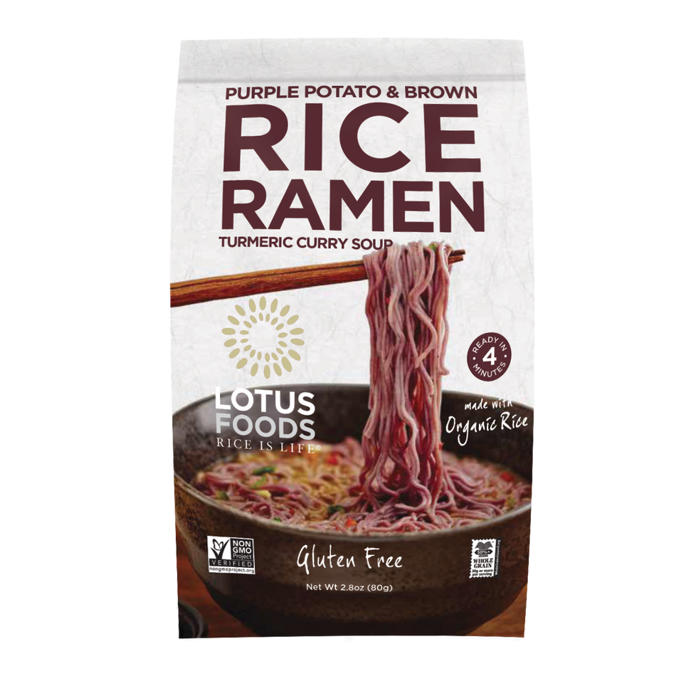 Lotus Foods Purple Potatoes & Brown Rice Ramen